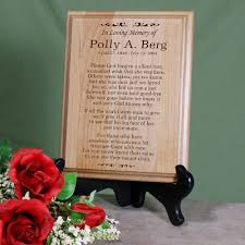 in loving memory personalized gifts in loving memory personalized memorial wood plaques this