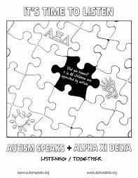 autism awareness coloring pages kids coloring