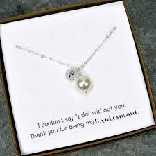 bridesmaid jewelry gifts pearl wedding jewelry bridal shower gifts starring you
