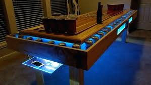 custom beer pong tables idea for a beer pong table pretty cool home custom beer pong tables