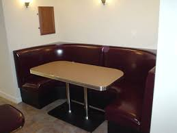 diner booth sets retro booths 50s with bar and tables prepare pub