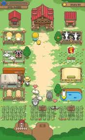 download game farm village mod apk revdl tiny pixel farm simple farm game 1 2 1 apk mod money android