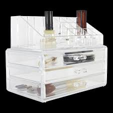 makeup organizers and cosmetics trays storables