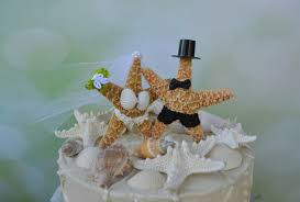 wedding cake toppers theme fish and groom wedding cake topper formal themed