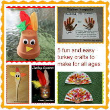 momma u0027s fun world fun turkey crafts for all ages