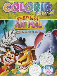 Basta Planeta Animal. Filhotes - Série Colorir Animada - Livros na  @QP17