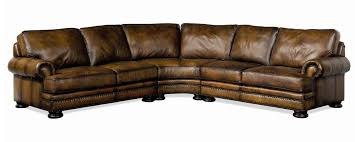 Bernhardt Leather Sofa Price by Bernhardt Foster Leather Sectional Sofa With Nailhead Trim