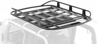 Smittybuilt Roof Rack by Amazon Com Smittybilt 76717 02 Src Roof Rack For Jeep Jk 4 Door