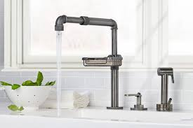 kitchen faucet brand reviews surprising kitchen faucet with handspray kitchen bhag us