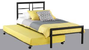 Ikea Single Bed Haiti Metal Single Bed With Trundle Furniture House Group