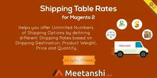 what is table rate shipping what is the best table rate shipping for magento 2 quora