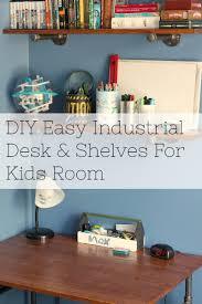 Diy Pipe Desk by Diy Industrial Pipe Desk U0026 Shelves My Husband Has Too Many Hobbies
