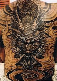 men full back coverup with asian dragon tattoo tattooshunter com