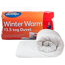 silentnight just like down 13 5 tog duvet single amazon co uk