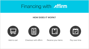 financing with affirm shop now and pay later with affirm