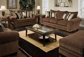 Fabric Sofa Set Chocolate Fabric Casual Modern Loveseat U0026 Sofa Set W Options
