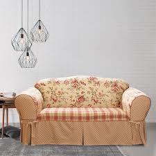 sure fit lexington one piece t cushion sofa slipcover free