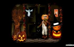 halloween animated with sound wallpapers wallpapersafari