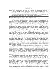 format abstrak tesis abstrak tesis ing data qualitative research