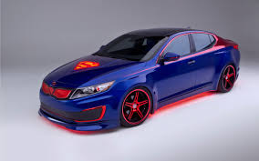 2013 kia superman optima hybrid tuning concept superhero comics h