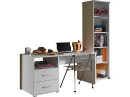 ensemble bureau biblioth ue ensemble bureau et bibliothèque moderne coloris blanc vente de