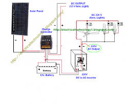 inverter connection diagram for house with schematic wiring