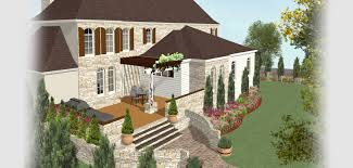 Concrete Patio Design Software by Home Designer Software For Deck And Landscape Software Projects