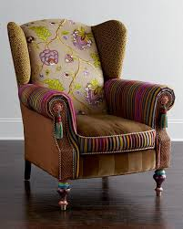 mackenzie childs l mackenzie childs bittersweet wing chair