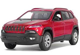 red jeep cherokee red silver black 1 32 kids diecast jeep cherokee toy nb1t290