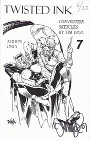 convention sketches by tim vigil soft cover 7e nimm98