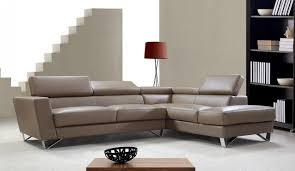 Brown Leather Sectional Sofa Light Brown Leather Sectional Sofa With Adjustable Backrests