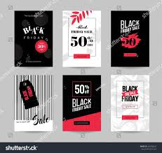black friday graphics card black friday sale cards set mobile stock vector 492308242