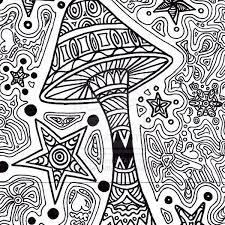printable 73 trippy coloring pages for adults 12177 free