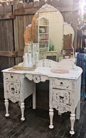 Turquoise Vanity Table Shabby Chic Vanity With Cool Turquoise Vanity Table And Bench