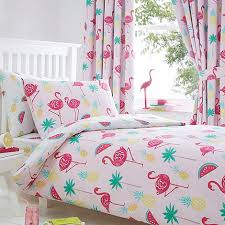 Childrens Curtains Debenhams Bluezoo Flamingos Duvet Set Debenhams Bedroom C Pinterest