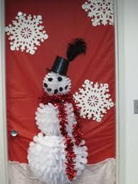 snowman decorations snowman christmas door decorations happy holidays