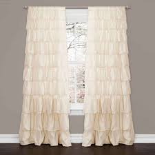 Ruffled Kitchen Curtains by Laces Touch Of Class Ruffled For Kitchen Stupendous L949 Curtains