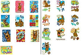 amazon com 20 scooby doo stickers and tattoos u003d 10 larger