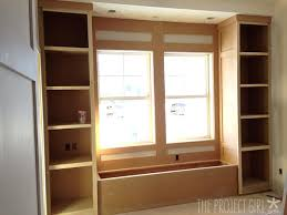 built in window seat the project house mr project s built in window seat with