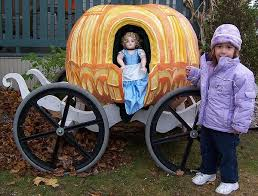 cinderella carriage pumpkin pumpkins yard