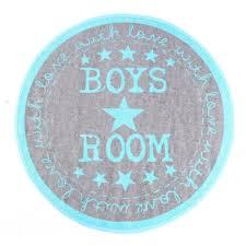 teppich kinderzimmer rund 19 90eur teppich rund boys room mit sternen grau blau baby