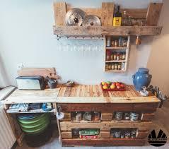buffet kitchen island kitchen prep cooking island from pallets buffet de cuisine