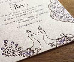 simple indian wedding invitations wedding invitations peacocks me