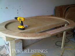 how to make a poker table how to build your own poker table for under 300 images plans