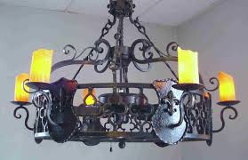 Wrought Iron Ceiling Lights Black Wrought Iron Ceiling Fan With Light Ceiling Lights Home