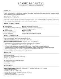 Radiologic Technologist Resume Sample by Radiologic Technologist Student Resume