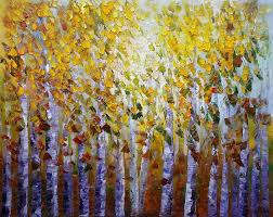 forest tree painting landscape painting rustic wall art bedroom