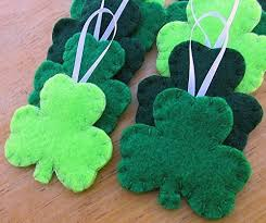 10 shamrock decorations st s day clover
