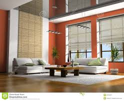 home interior 3d rendering royalty free stock photography image