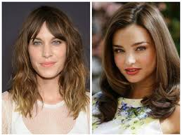 oval face medium length hairstyles round face vs oval face mid length hair hair world magazine